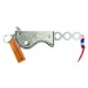 NAVIGATOR 【ナビゲーター】 ジョイントキャッププロテクター Poisson リザード 白 (Joint Cap Protector Lizard White)