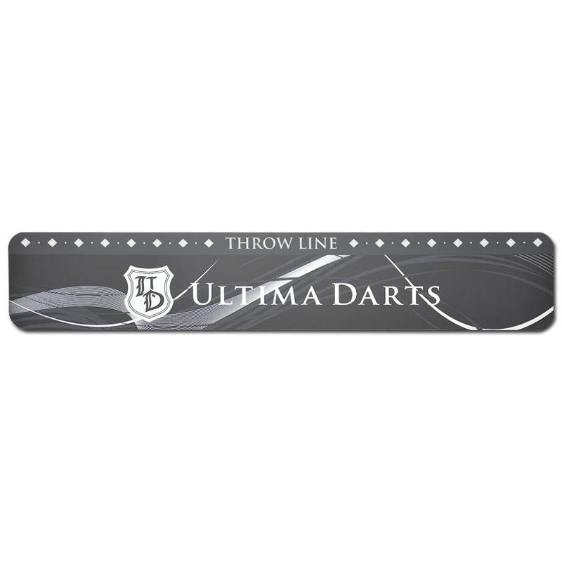 ULTIMA DARTS 【アルティマダーツ】 スローライン UDロゴ黒 (Throw Line) | スローライン