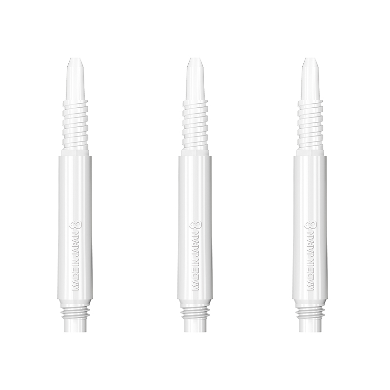 TARGET 【ターゲット】 エイトフライト レギュラー ホワイト 22.5MM 固定タイプ (8 Flight Regular White 22.5MM Fixed)|シャフト