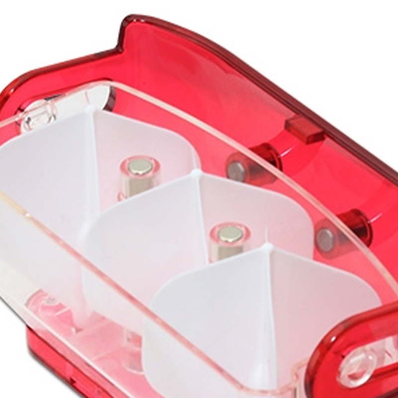 Fit Flight 【フィットフライト】 フィットホルダー クリアレッド (Fit Holder Clear Red) | ダーツ フライトケース
