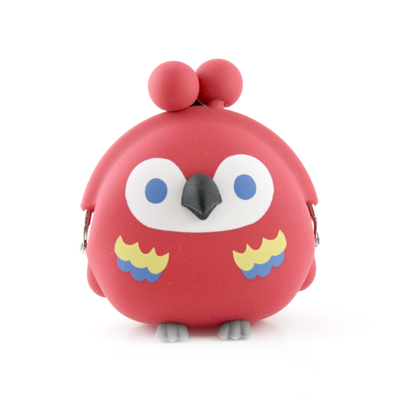 3D POCHI Friends BIRD PARROT (レッド)