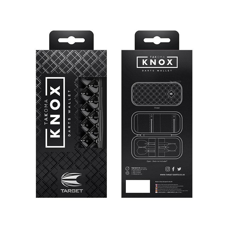 TARGET 【ターゲット】 タコマ ノックス ブラック (TAKOMA KNOX BLACK)   ダーツケース