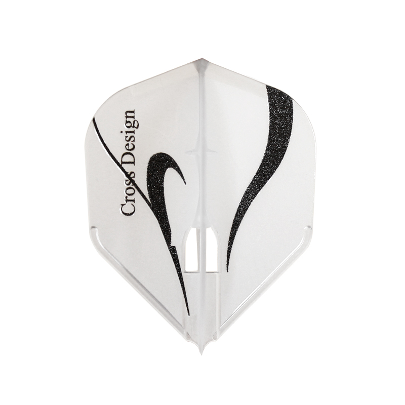 Flight-L×CROSS DESIGN 【フライトエル×クロスデザイン】 ストリームライン シェイプ クリアホワイト (Stream Line Shape C.White)   L3c シャンパンリング対応