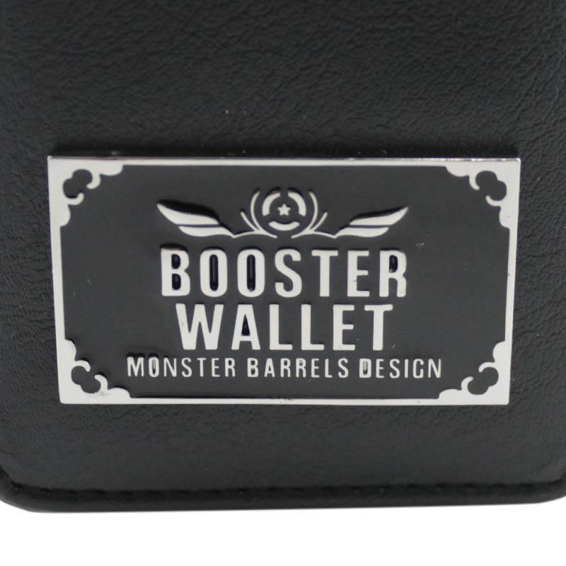 MONSTER DARTS【モンスターダーツ】 ブースターウォレット タイプ2 ブラック (BOOSTER WALLET/TYPE2 BLACK) | ダーツケース
