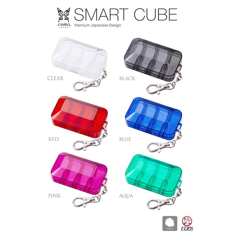 CAMEO 【カメオ】 フライトケース スマートキューブ ブルー (SMART CUBE BLUE) | ダーツ フライト ケース
