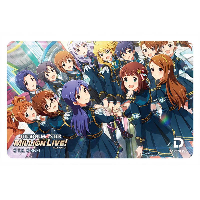 DARTSLIVEカード付き アイドルマスターミリオンライブ! ダーツセット 「765PRO ALLSTARS」