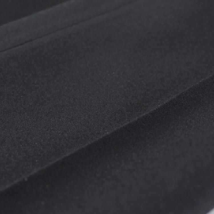 ■夏物 ビジネススラックス■●ノータック ブラック●【メール便[×]非対応】(紳士 メンズ 仕事着 パンツ ズボン オフィス ポリエステル すそ上げ済み ウォッシャブル パイピングポケット コインポケット)