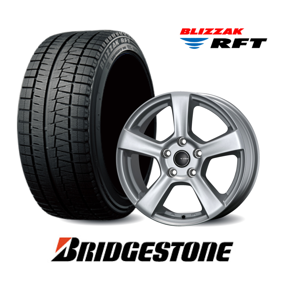 16インチ Nセット ブリヂストンブリザックRFT 1シリーズ/2シリーズ F22 スタッドレスタイヤ&TRGホイールセット