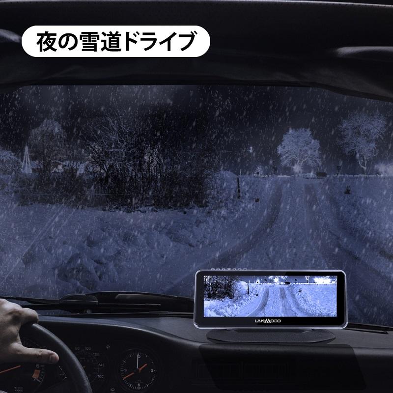 ベロフジャパン LANMODO ナイトビジョンシステム + リアビューカメラ パッケージ