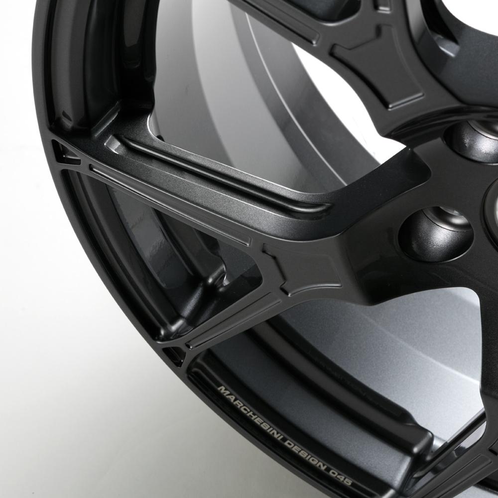 【完売致しました】Ruote Marchesini(ルオーテ マルケジーニ) F045 18-7.5(50) 112−5H ゴルフ・A3・S3専用鍛造ホイール4本セット