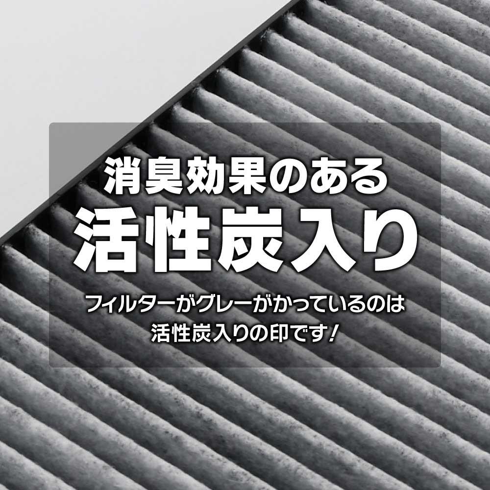 アルファ/フィアット用  CWORKS活性炭エアコンフィルター