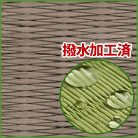 畳新調◆縁付き6帖 清流11 銀鼠色
