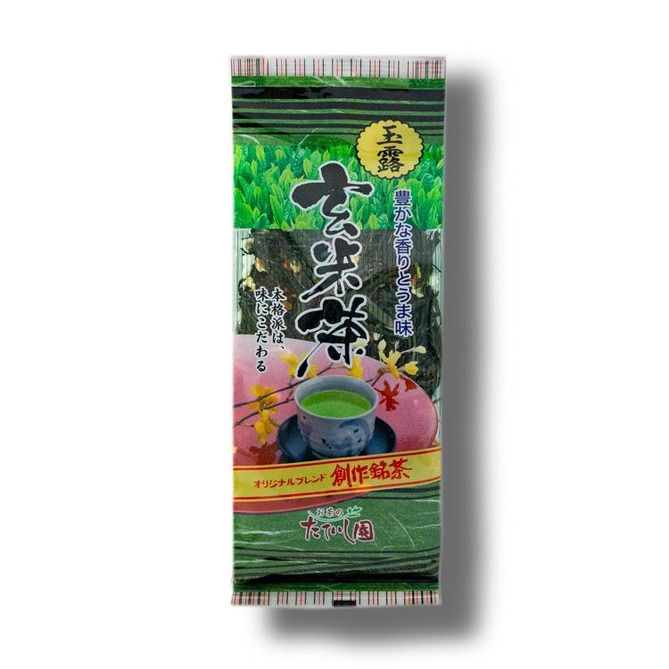 玉露玄米茶 180g(緑)