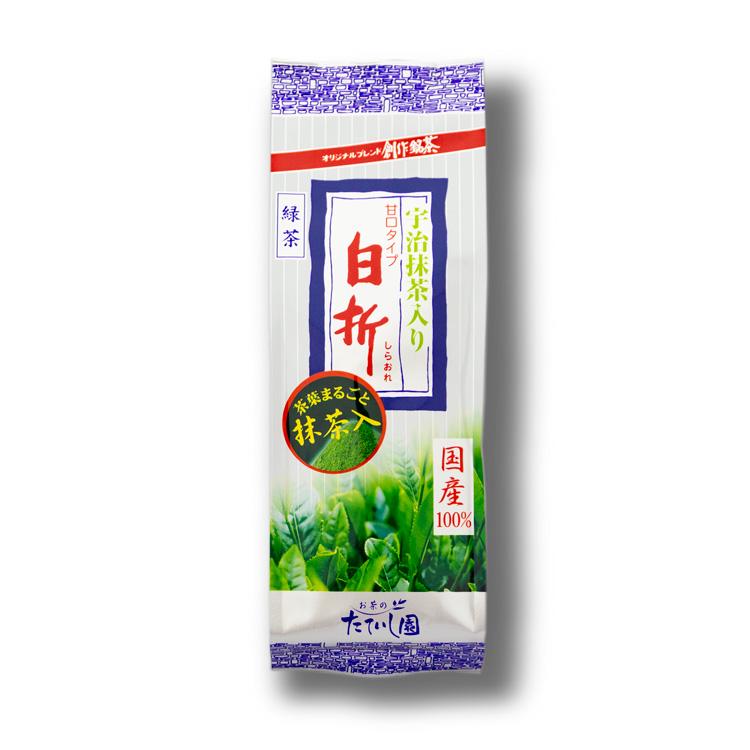 抹茶入り白折(しらおれ)120g