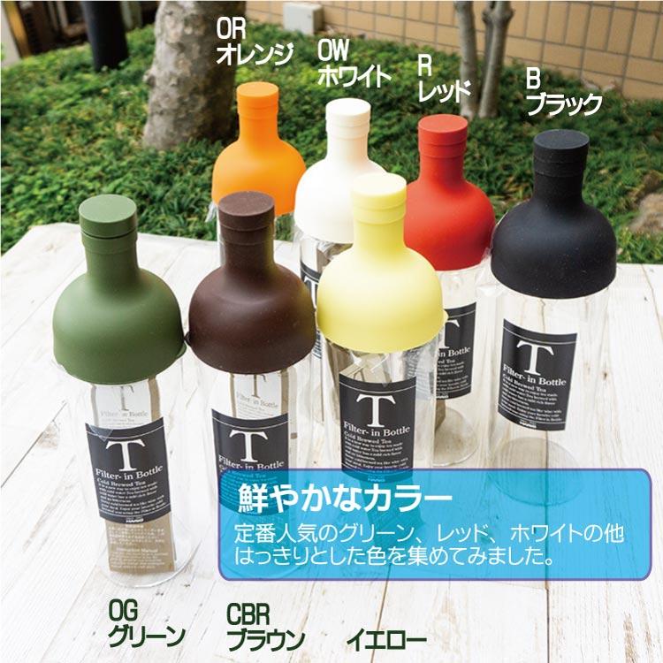 フィルターインボトル 750mlと、お茶と抹茶豆菓子のギフト【FIB-75】