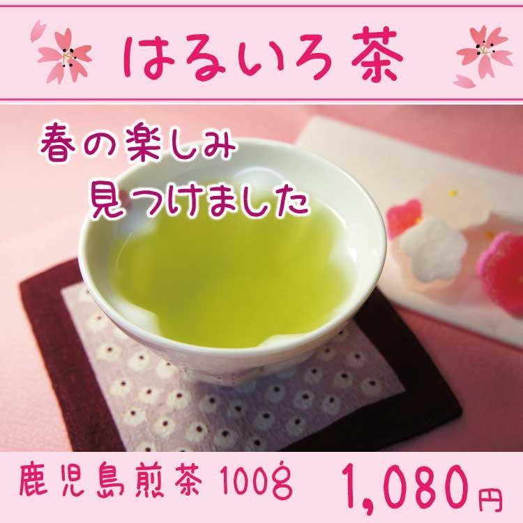 春限定!はるいろ茶100g(鹿児島煎茶)