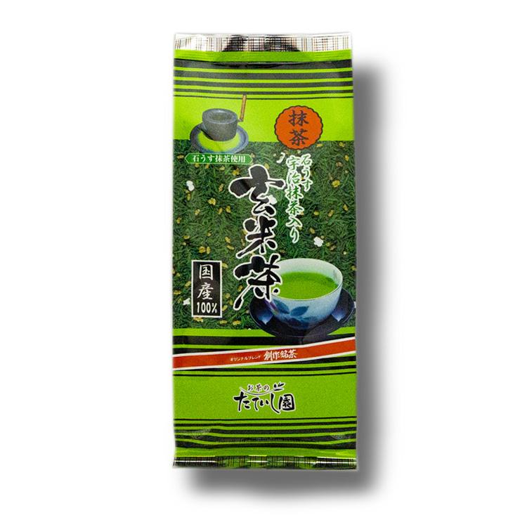 抹茶入玄米茶 180g