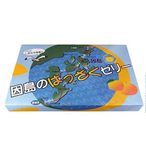 因島八朔ゼリー12個入り :MiX便2 2個まで送料変わりません(料金はエリアにより異なります)