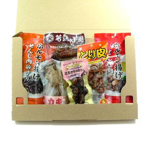 ディープな広島・珍味セット<br>配送料:全国一律228円