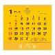 TD-30964 金運カレンダー(2021年版)