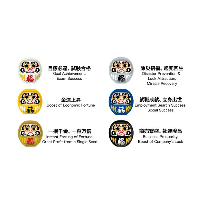 KT-9105-2<br>幸(しあわせ)だるまさん・招福セット