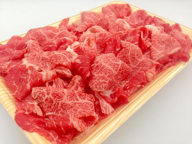 宮城県産黒毛和牛切り落し 1kg【送料込】
