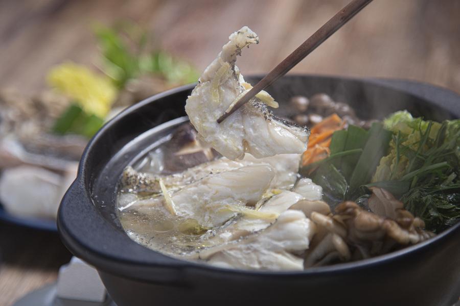 紀伊長島 本クエ鍋×ラペ監修 特製スープ付き 970g相当(4~5人前)