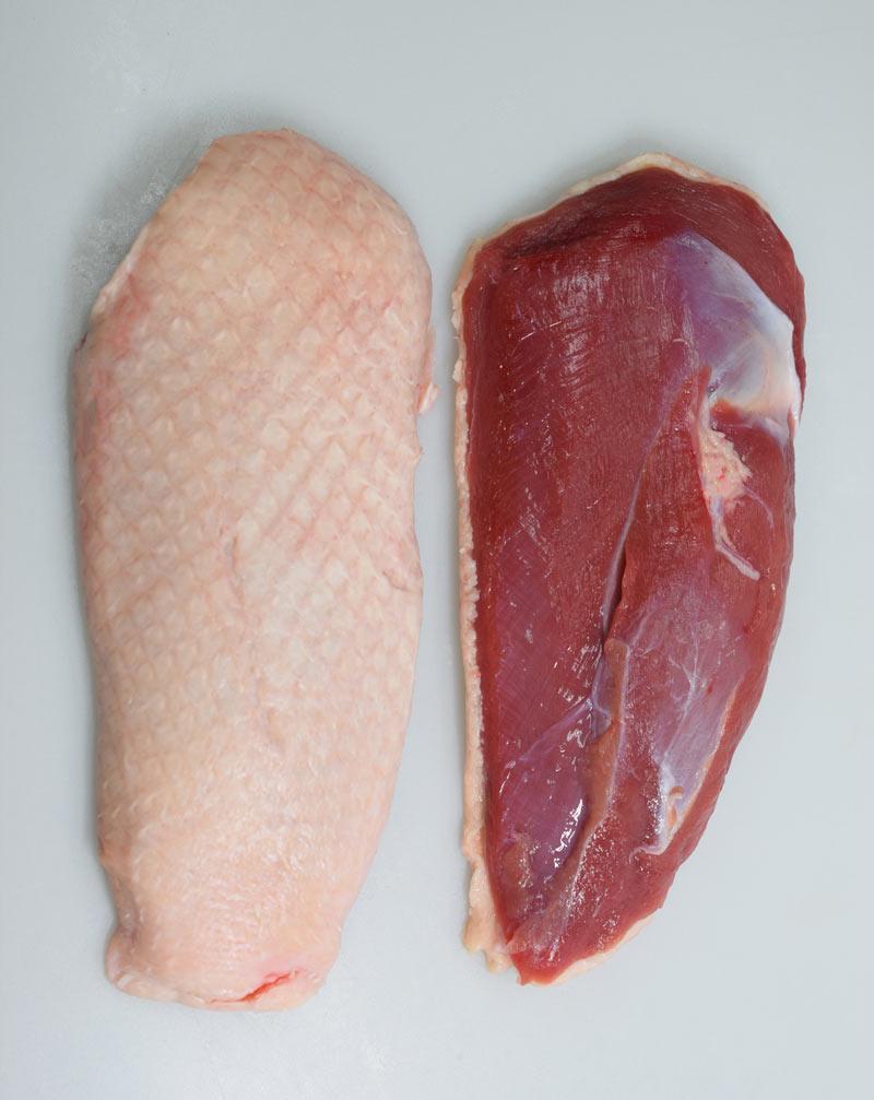 フランスブルターニュ産 小鴨ロース肉(冷凍)【送料込】