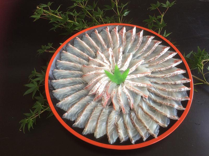 真鯛の皮付きフィレ1kg