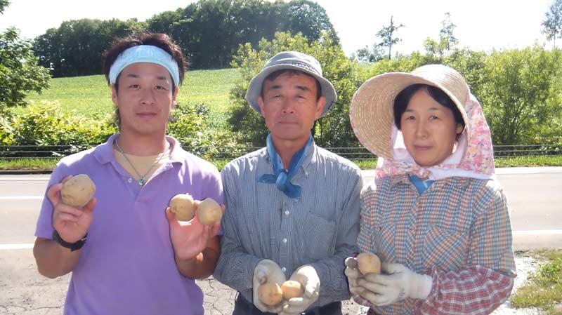 北海道産越冬じゃがいも3種食べ比べセット(M-MLサイズ混合)3KG【送料込】