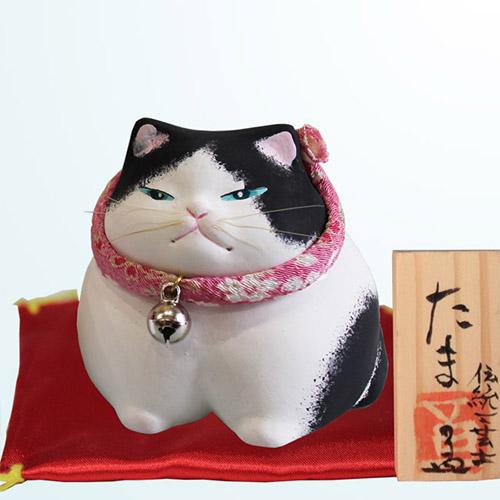 博多人形 たま(小) 白黒