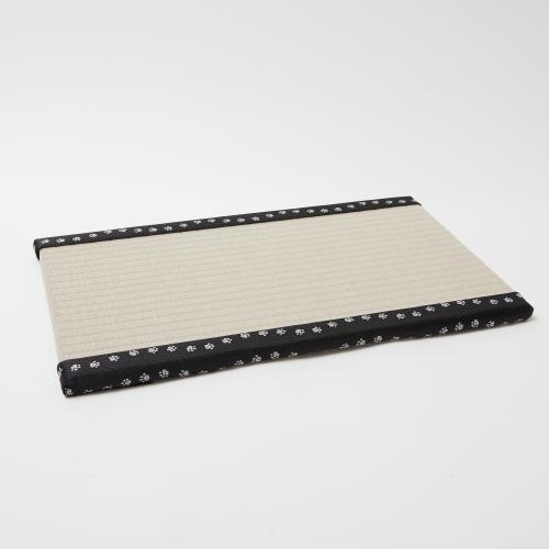 【予約商品】畳がニャンとベッド ごろニャン畳 灰桜色(縁:肉球)