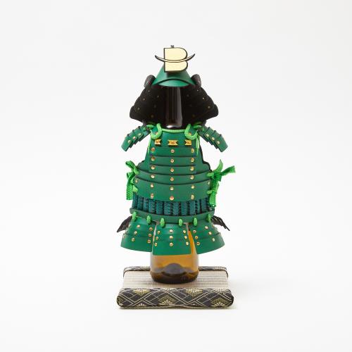 【予約商品】フィギュア(人形)台座 飾り畳(ミニ畳) 灰桜色(縁:大和大菊菱銀)