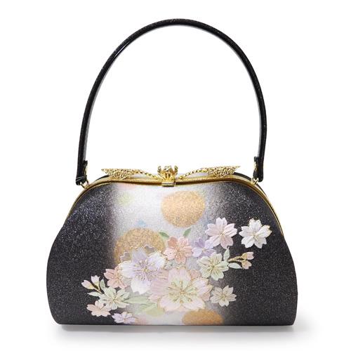 桜刺繍草履バッグセット(3Lサイズ)