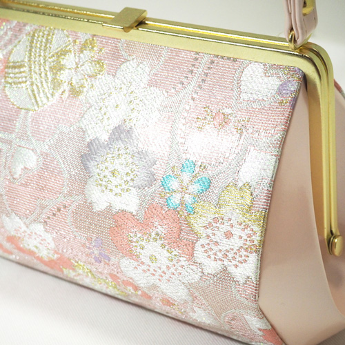 ピンク桜草履バッグセット(3Lサイズ)