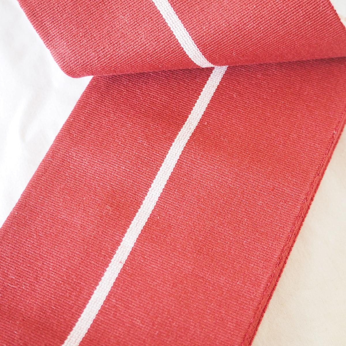 献上柄角帯(クリーム色、若草色、赤色)