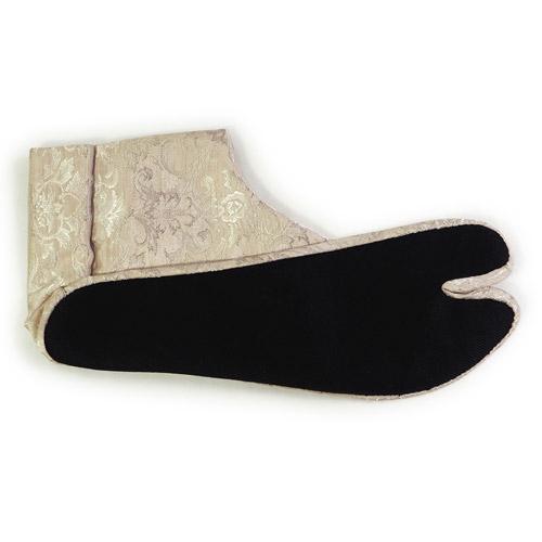 ダマスク風柄足袋