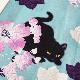 清涼浴衣_芙蓉と猫