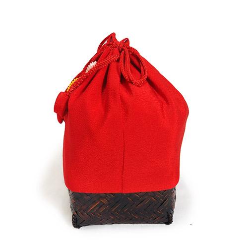 万寿菊草履ときんちゃくバッグセット(2Lサイズ)_大きいサイズ