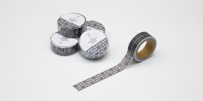 オリジナルマスキングテープ ラジエーター(黒)