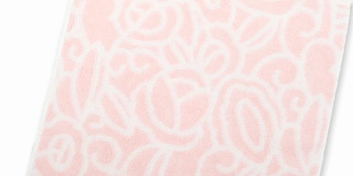 オリジナルハンドタオル ピンク