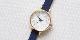 オリジナル時計 市松紋 レディース イエローゴールド