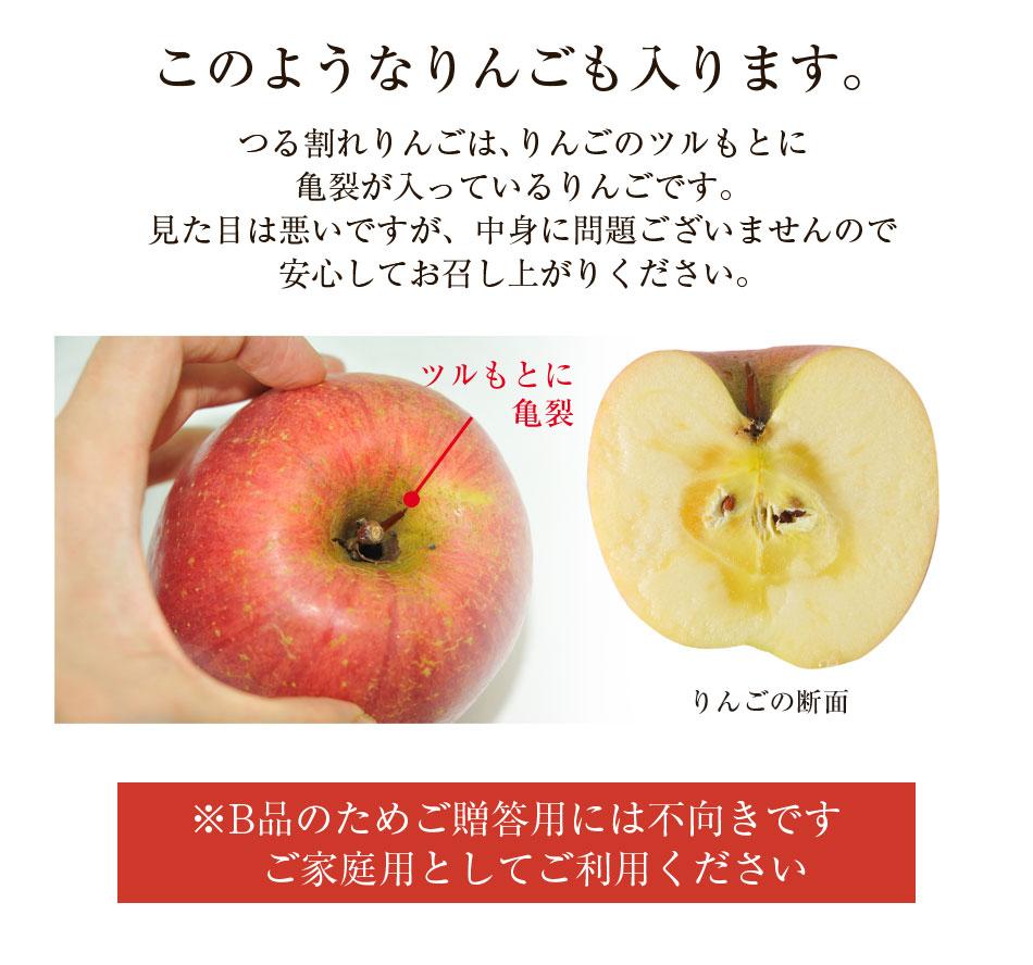 青森県産 葉とらずりんご 3kg箱 訳あり B品 成田りんご園 特別栽培農産物 特許取得  陽向果 送料無料