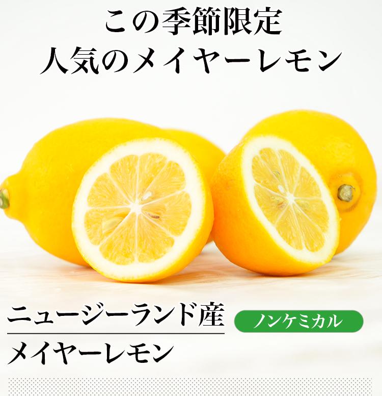 (送料無料) ノンケミカル メイヤーレモン 50個 ニュージーランド産 人参ジュース用 わけあり