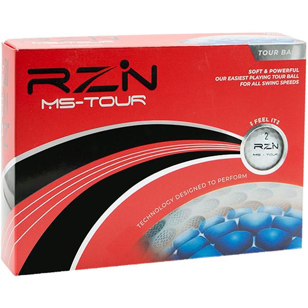 RZN Golf MS-TOUR 3ピース ゴルフボール 12個入り 1ダースセット
