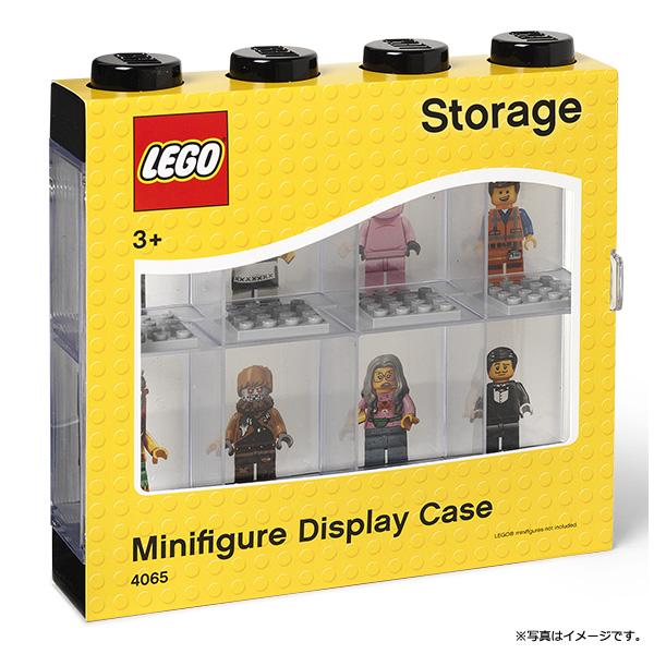 [5711938023591] レゴ ミニフィギアディスプレイケース/8  ブラック フィギュア ミニフィグケース