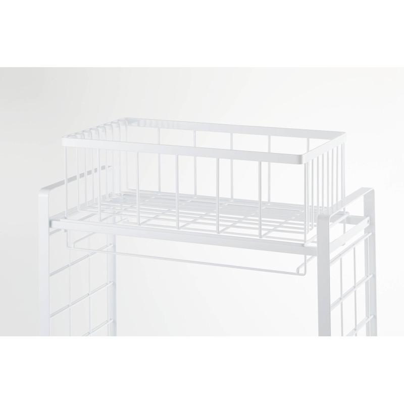 [04362-5R2] tower タワー シンク上伸縮システムラック用水切りバスケット L WH 4362★