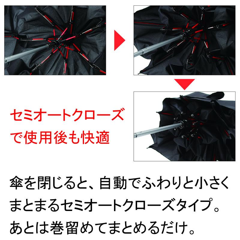 [SMV-40354] 高強度折りたたみ傘ストレングスミニ カーキ★
