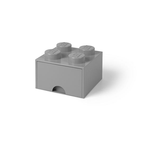 [5711938029494] レゴ ブリック ドロワー4 ストーングレー★