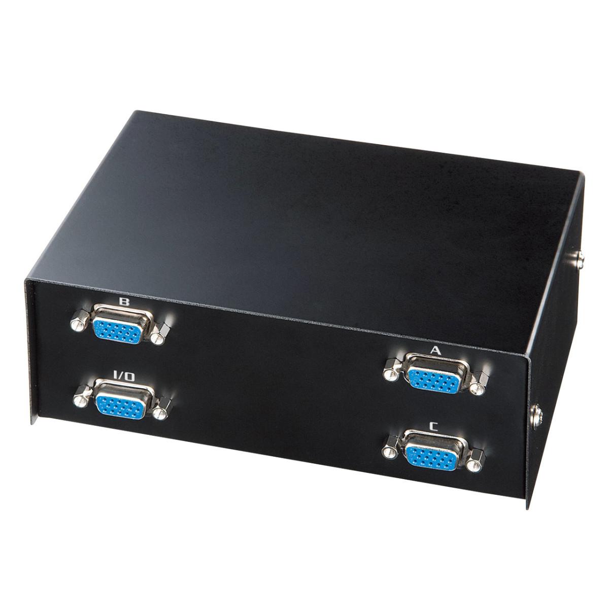 [SWW-31VLN] ディスプレイ切替器(3回路)